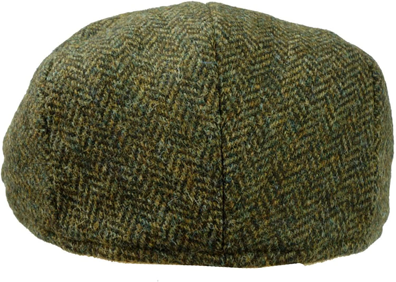 Failsworth English Tweed Cap Earland Brothers Hats 100/% Merino Lambswool Abraham Moon Green 1087