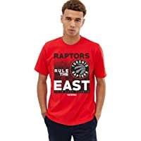NBA Toronto Raptors Limited Edition Rule The East Mens Red Basketball T-Shirt