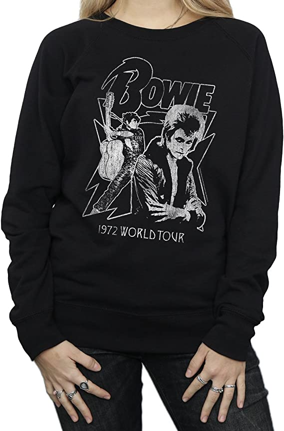 David Bowie Femme Mono 1972 World Tour Sweat