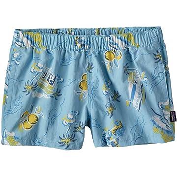 Patagonia Women's Barely Baggies Shorts - C Street: Cuban Blue - Small