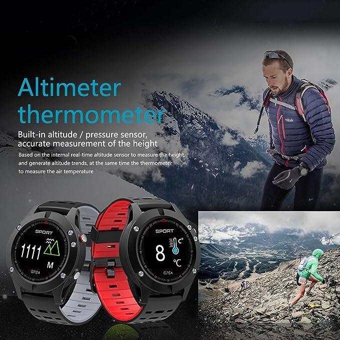 lennonsi Reloj GPS Multideporte, Reloj Deportivo Inteligente ...