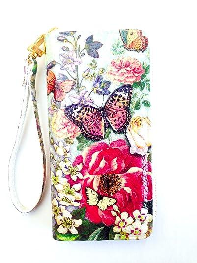 Thai Handmade Decoupage , Butterflies w/ Roses Woman Gold