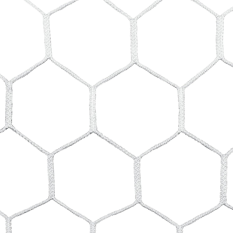 Agora 4 mm htpp Netze für 7 'x21' Fussballtore mit Tiefe (je)