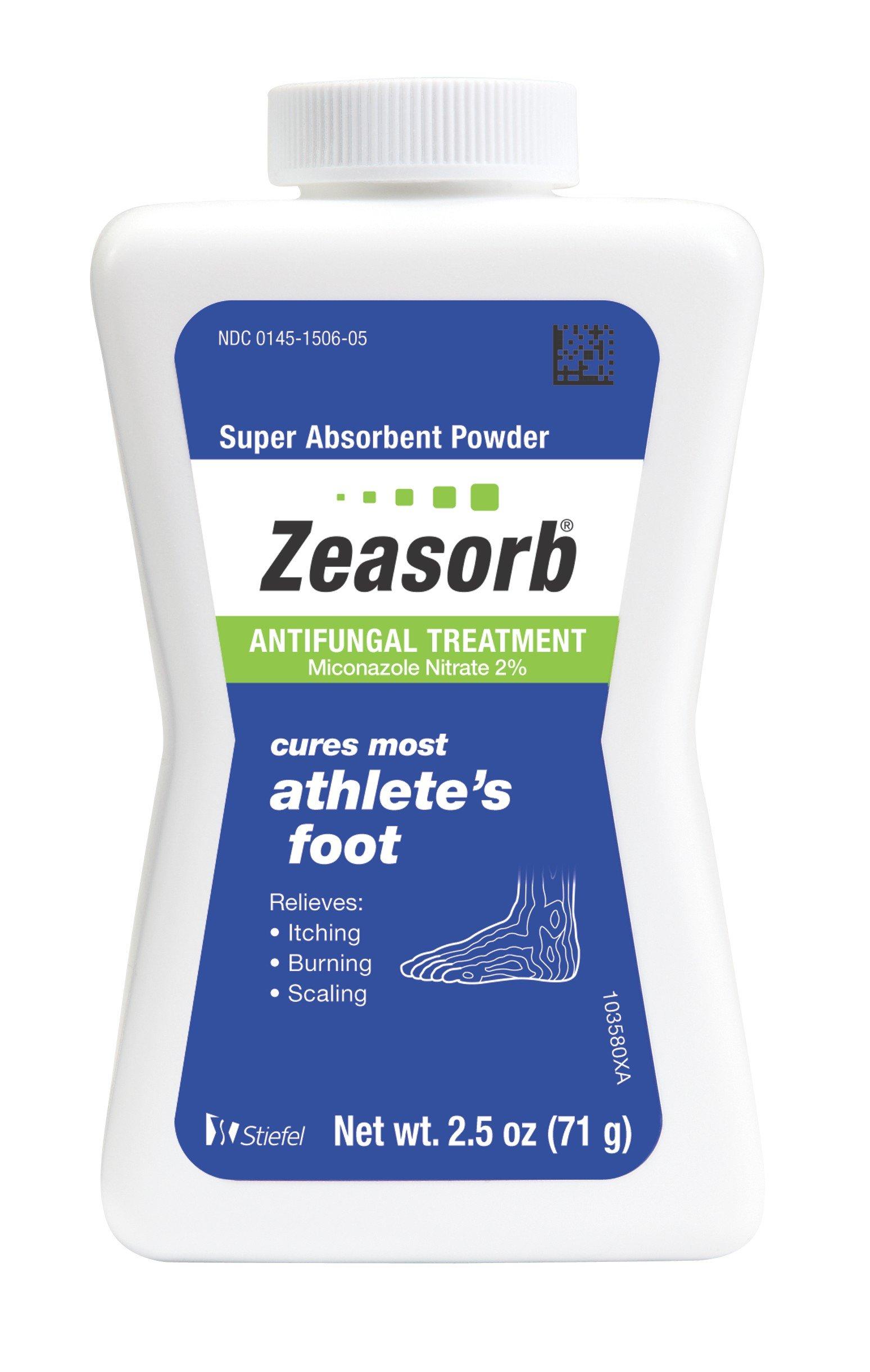 Zeasorb Antifungal Treatment Powder, Athletes Foot, 2.5oz