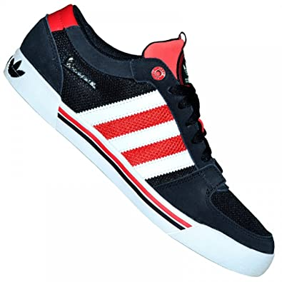 Adidas Originals - Baskets - Vespa Lx Lo Q33570 - Noir Blanc Rouge - 45