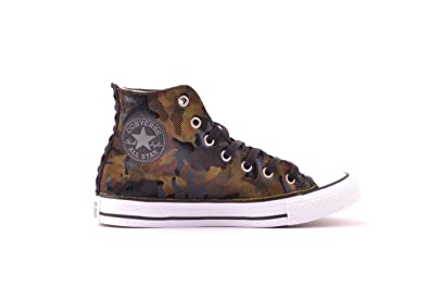 Converse Chuck Taylor All Star Camo Velvet High Top Vert