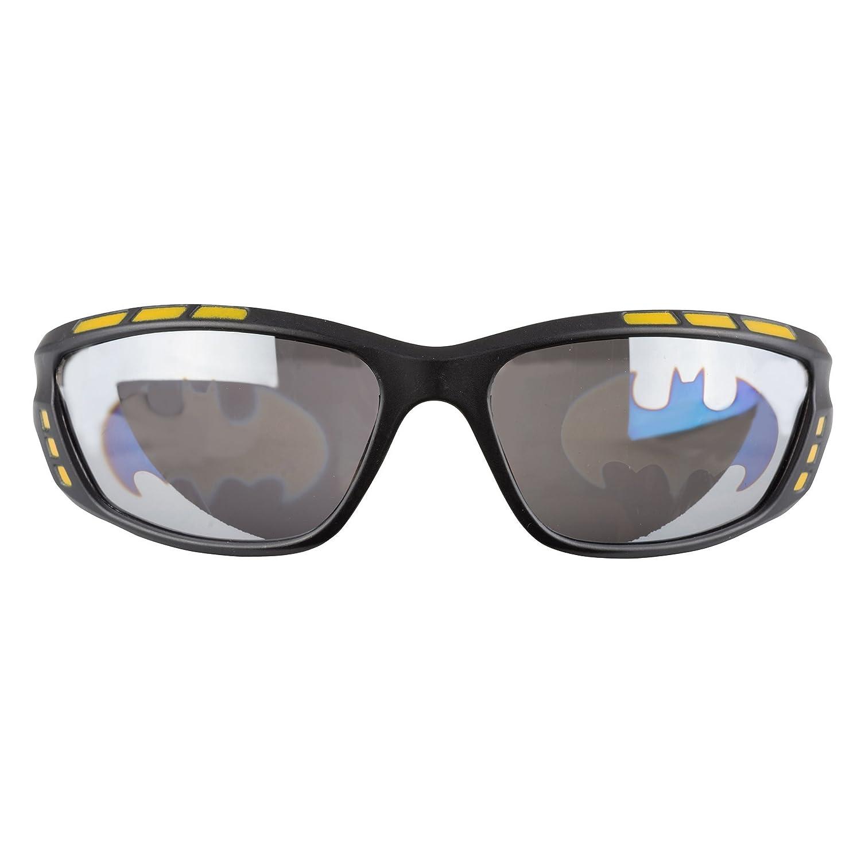 Pan Oceanic LTD Black Wayfarer Plastic Batman Sunglasses for Boys, Non-polarized SPIDERMAN AVENGERS STAR WARS BM008-BLKMSK-OS