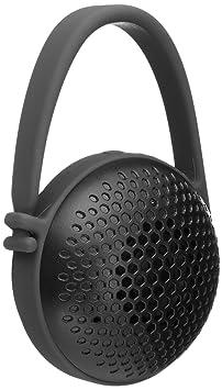 AmazonBasics - Altavoz nano con Bluetooth ultraportátil, Negro