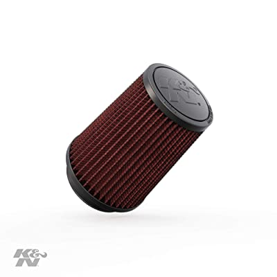 K&N Universal Clamp-On Air Filter: High Performance, Premium, Washable, Replacement Filter: Flange Diameter: 3 In, Filter Height: 5.75 In, Flange Length: 0.75 In, Shape: Round Tapered, RU-5111: Automotive