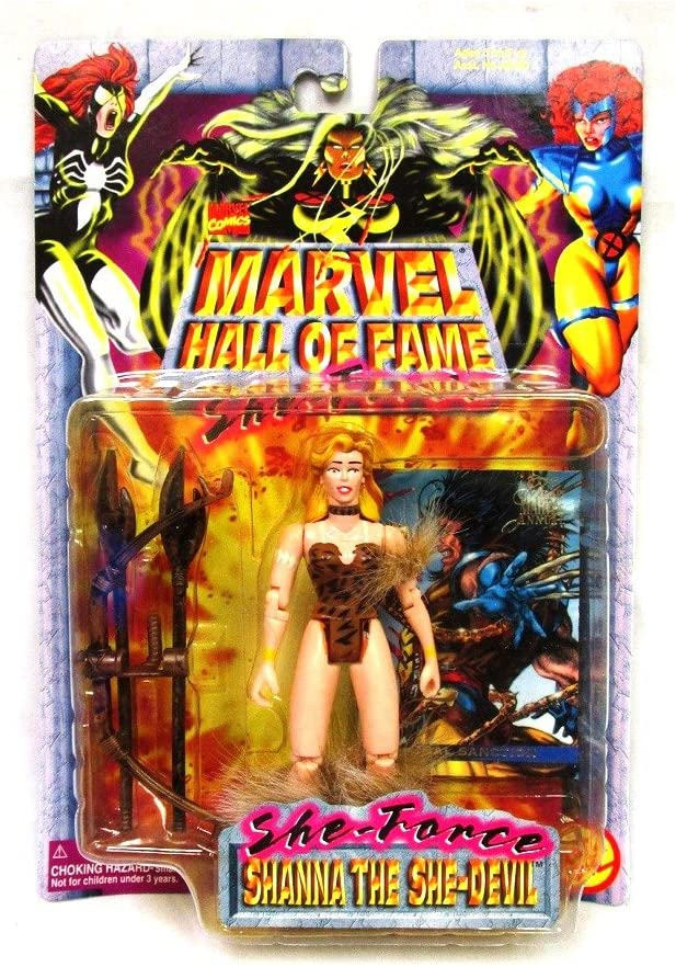 Amazon.com: Marvel Shanna The SHE-Devil Comics Hall of Fame ...