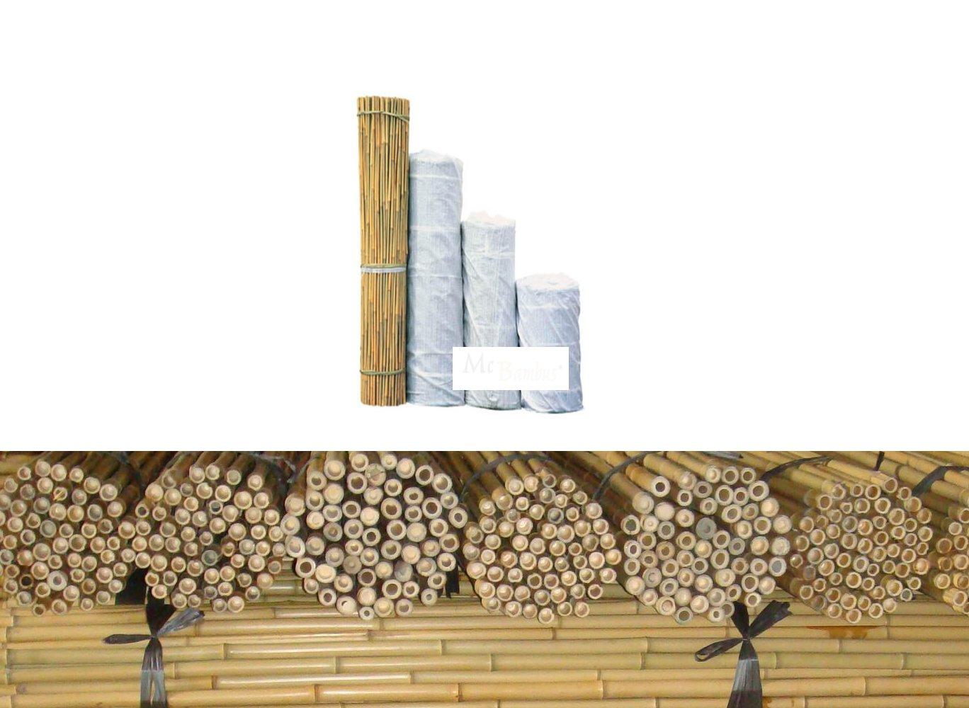 Bambusrohr Bambusstange Bambushalm Bambus Bambusrohre 10 x 2-3 x 3 m 20-30