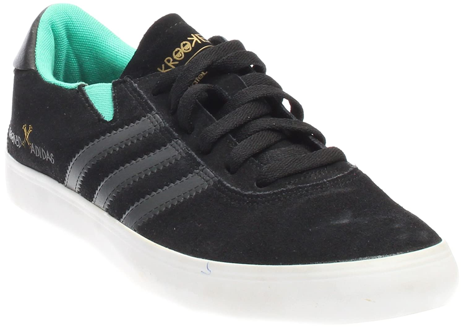 reputable site 3caaf 20d6d Amazon.com  adidas Mens Gonz Pro BlackDGSO Green Suede Size 11.5  Skateboarding  Fashion Sneakers