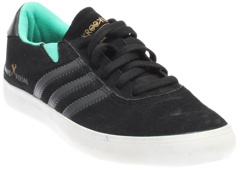 reputable site eb224 3c135 Amazon.com  adidas Mens Gonz Pro BlackDGSO Green Suede Size 11.5  Skateboarding  Fashion Sneakers