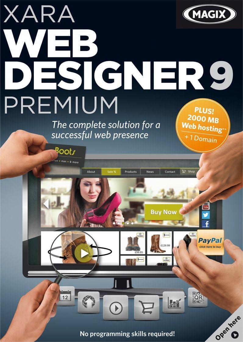 Amazon Com Xara Web Designer 9 Premium Download Software