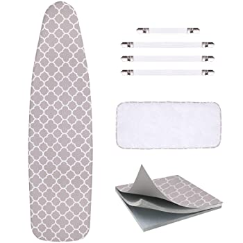 Scorch Resistance Ironing Board Cover & Pad by Sunkloof
