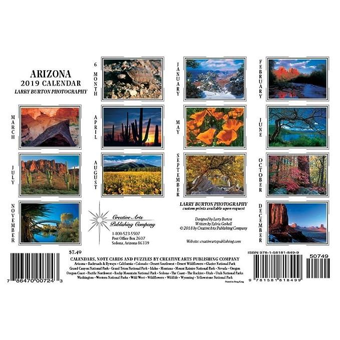 Amazon.com: Arizona Mini Wall Calendar, by Creative Arts ...