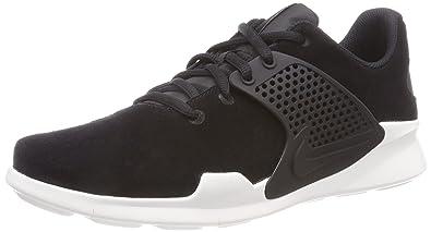 Nike Arrowz Prem Herren Nubukleder Sneaker Low  43 EUSchwarz (Black)