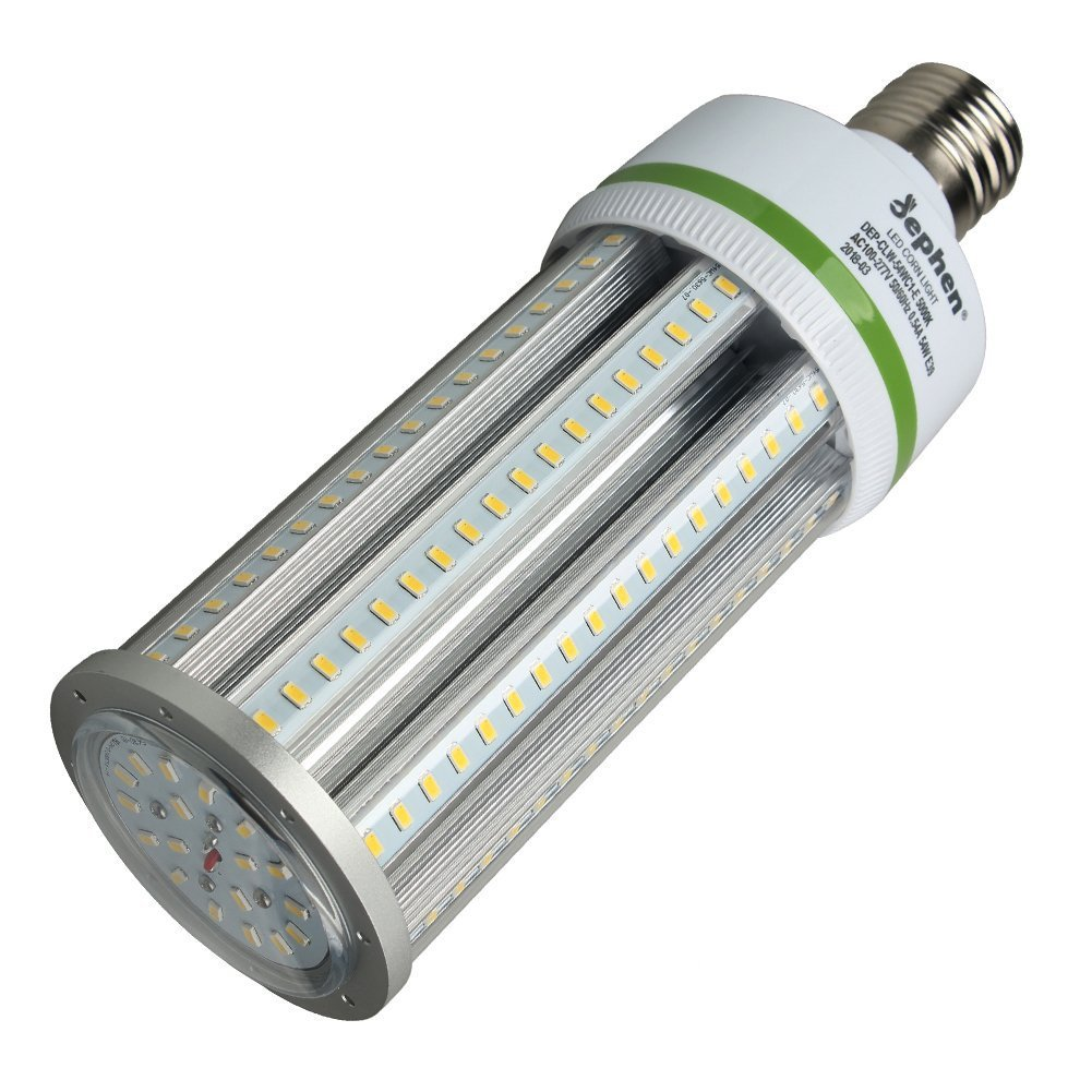 54W LED Corn Light 5000K Led Corn Bulbs Mogul E39 Base LED Bulb Replacement of 175W-250W Metal Halide/HID/CFL/HPS for Warehouse High Bay Parking Lot Street Garage Lights - Commercial Light Blulb