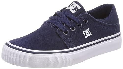 DC Shoes Trase B, Sneaker Bambino, Blu (Navy Nvy), 32 EU