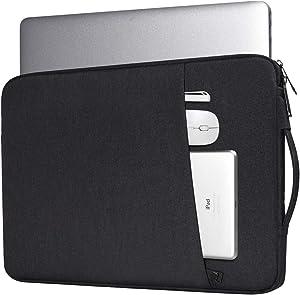 15.6 Inch Laptop Briefcase Sleeve Case for Acer Nitro 5/ Aspire 5/Predator Helios 300/Chromebook 15, Lenovo Yoga 720/730 15.6, Dell Inspiron 15 5000/Asus Chromebook/HP Pavilion Sleeve(Black)