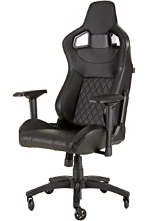 Corsair CF-9010011 WW T1 Gaming Chair Racing Design, Black