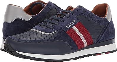 85894e56c51875 BALLY Men s New Aston Sneaker Ink 12 ...