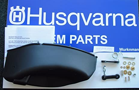 "Husqvarna Oem 954040501 Or 532198383 42"" Mulch Plate Kit Fit Craftsman Poulan"
