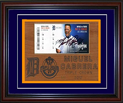 8e56b169099 Image Unavailable. Image not available for. Color  Miguel Cabrera  Autographed ...