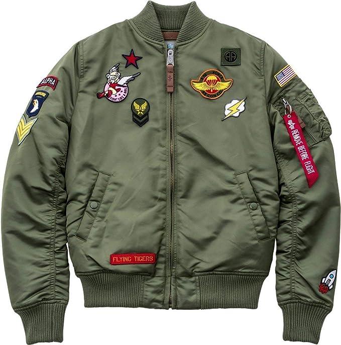 Alpha Industries Damen Jacke MA 1 VF Patch Wmn
