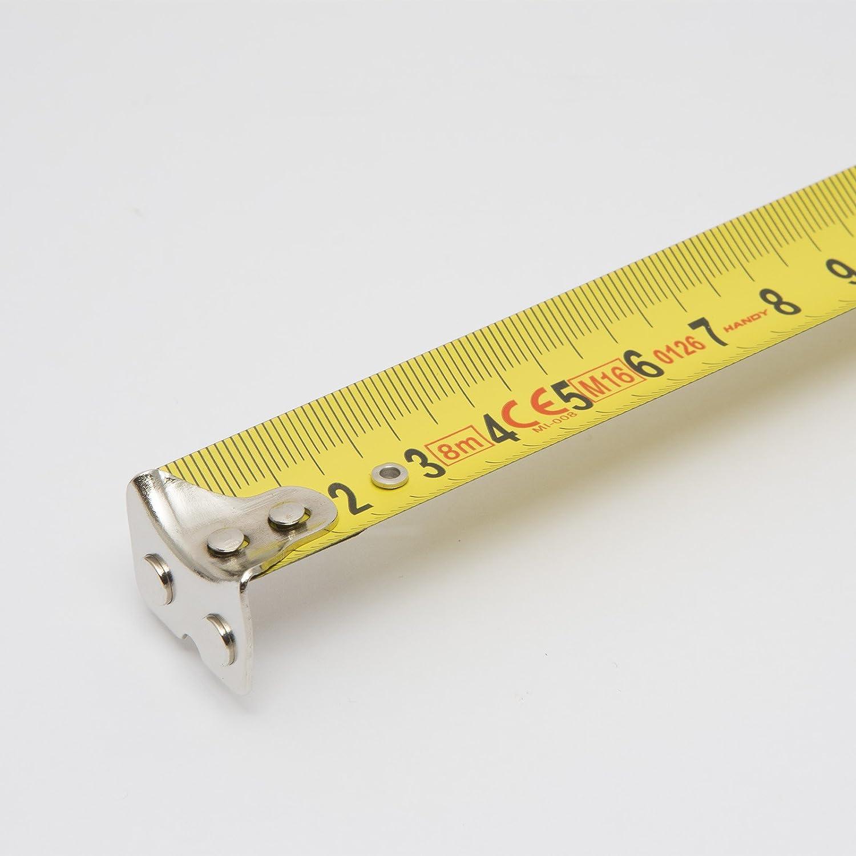 10158/8/m m/étrique ruban /à mesurer M/ètre /à ruban avec extr/émit/é magn/étique et clip ceinture et sangle de poignet