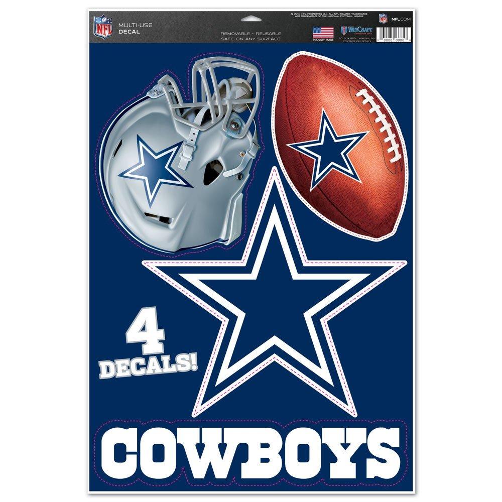 WinCraft NFL Dallas Cowboys WCR41268014 Multi-Use Decal 11 x 17