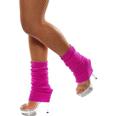 Calze cavigliere rosa scaldini scaldamuscoli anni 80 aerobica aerobica 80 danza   8ea4d7