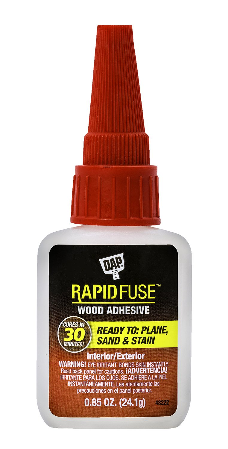 DAP 00156 Rapid Fuse Wood Adhesive Raw Building Material Clear
