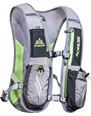 AONIJIE Running Backpack Sac à Dos Fonctionnel léger d'hydratation Pack 5.5L