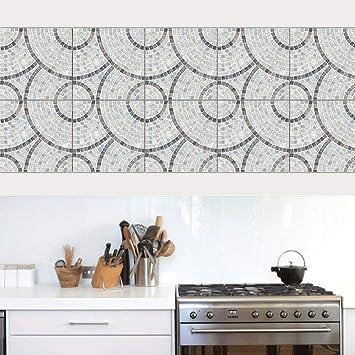 Set De 10 Pcs Stickers Carrelage Adhesif Mural Cuisine