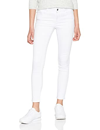 Womens Vmseven Nw S Shape White Noos Slim Jeans Vero Moda Cool Shopping LXBSK7yW