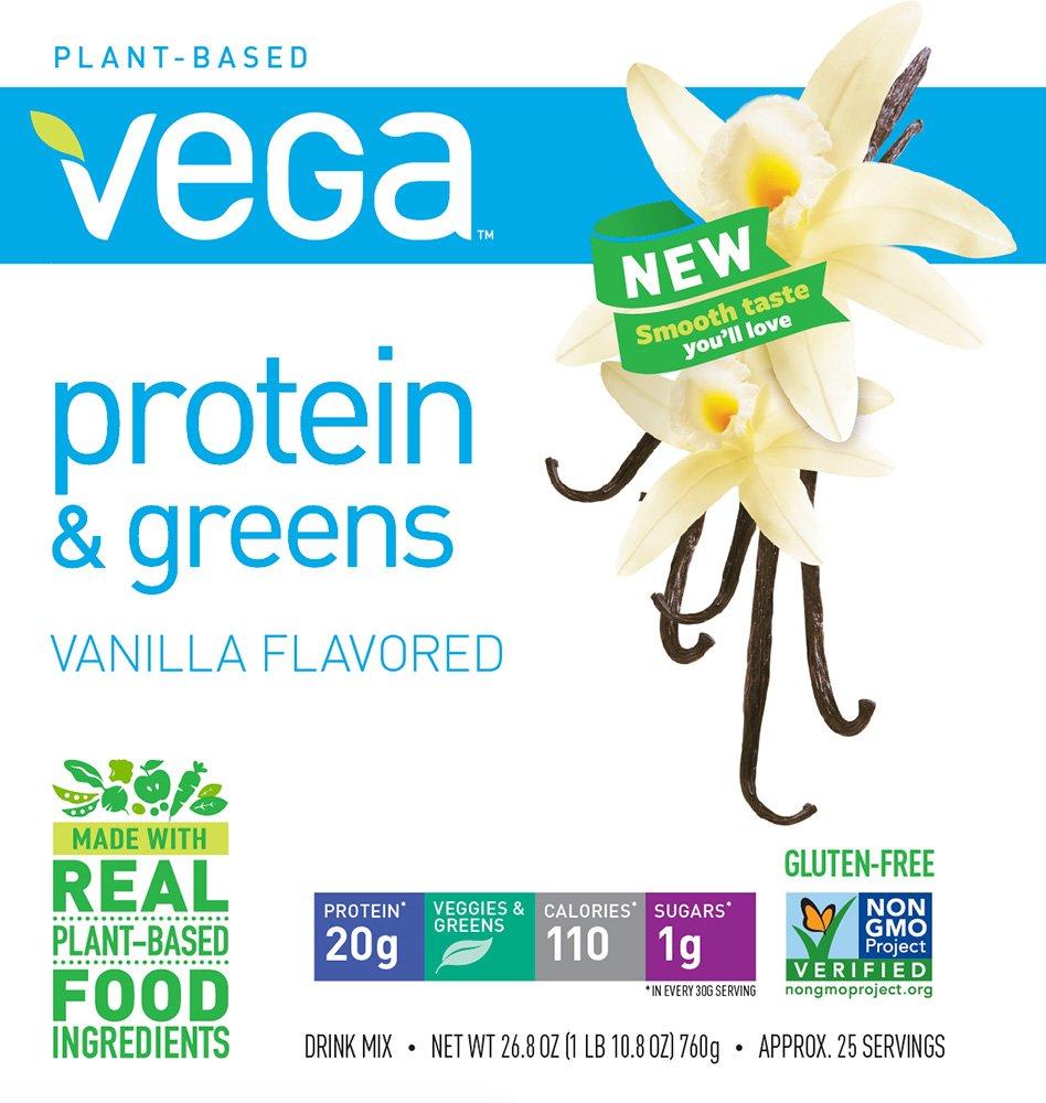 Vega-Protein-Greens-Vanilla-25-Servings-268-oz-tub-Plant-Based-Protein-Powder-Gluten-Free-Non-Dairy-Vegan-Non-Soy-Non-GMO