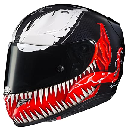 Amazon.es: HJC RPHA 11 Pro Marvel Venom Casco MC-1 (Negro, XXL)