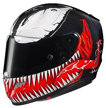 HJC RPHA 11 Pro Marvel Venom Casco MC-1 (Negro, XXL)