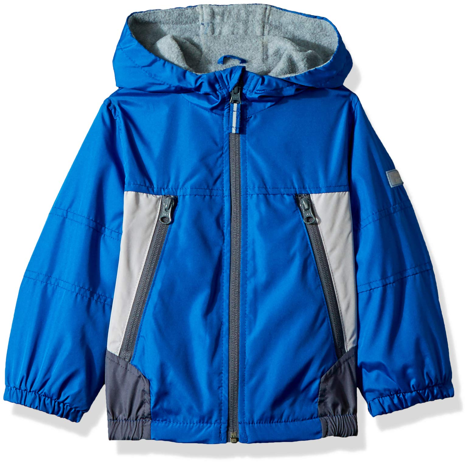 Osh Kosh Boys' Toddler Midweight Jacket, Cosmic Cobalt/Silver/Grey 2T