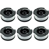 """LBK 0.065"""" Spool for BLACK+DECKER String Trimmers ( Replacement Autofeed Spool) , compatible with BLACK+DECKER AF-100 , 6-Pac"""