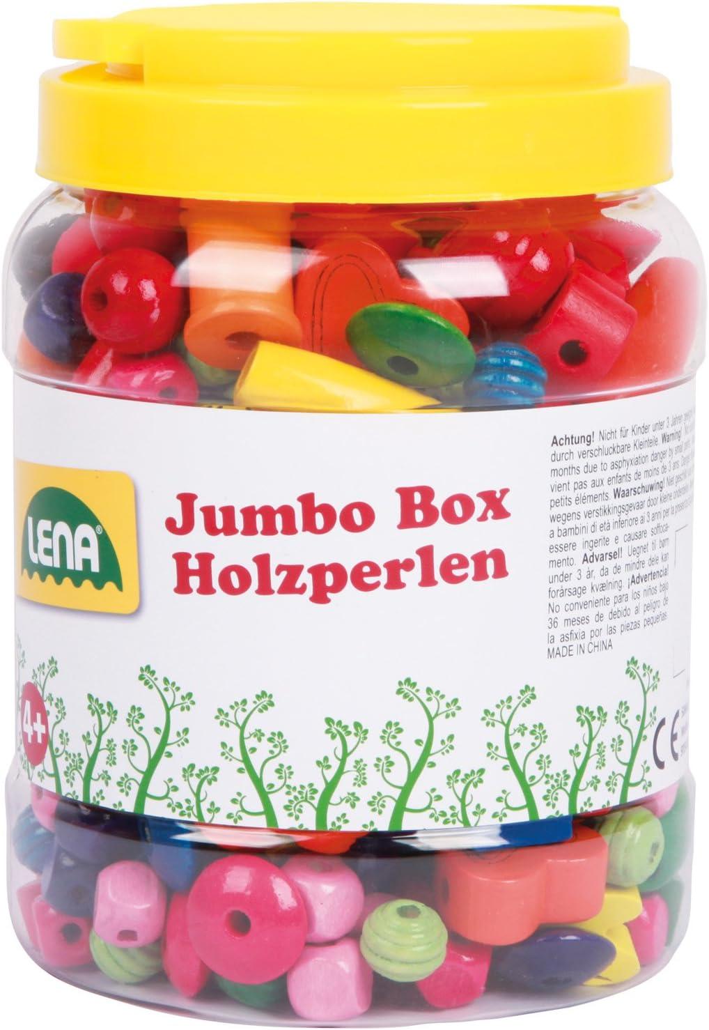 Jumbo Box Holzperlen Lena 32044 gestalte schöne Ketten