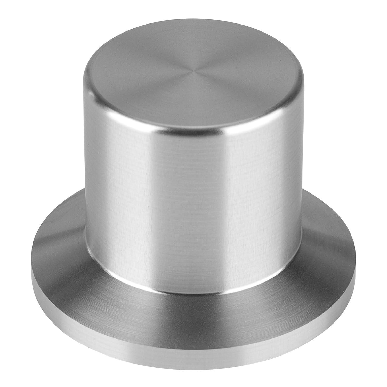 魅力的な Large B072MKQF24 Aluminum受信機 –/アンプSkirtedノブ1.5