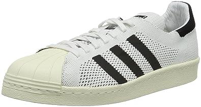 finest selection 4b9d7 0e79f adidas Superstar 80s Primek, Chaussures homme, Blanc (White Black Mesh),
