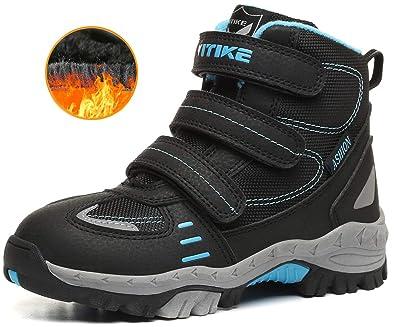 72aaf1533d4d Hiking Boots Shoe Snow Boots Antiskid Steel Buckle Sole Winter Outdoor  Climbing