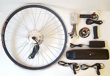 Voilamart 250 W eléctrico E-Bike Kit de conversión con batería de ...