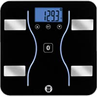 WW Scales by Conair Bluetooth Body Analysis Bathroom Scale - Measures Body Fat, Body Water, Bone Mass, Muscle Mass, and…