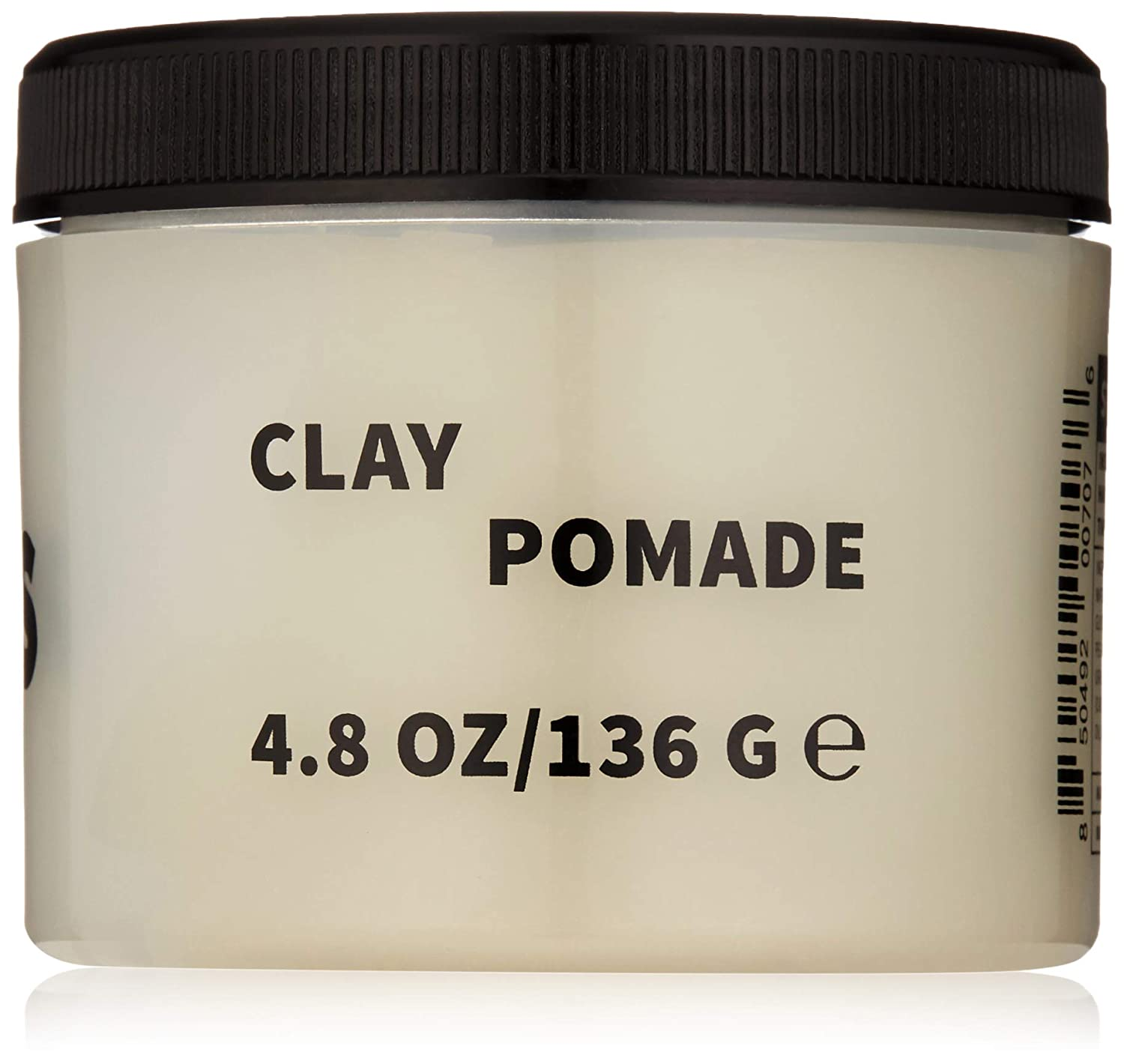 RUDY's Clay Pomade for Fine to Medium Hair, Strong Hold, Matte Finish, 4.8 oz