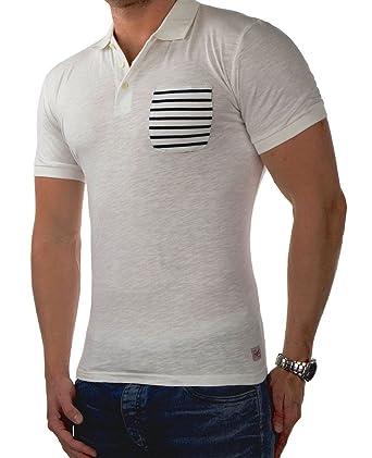 2b997f459694a4 JACK   JONES Herren Polo jcoCHRIS jorEXTRA leichtes Sommershirt Polohemd Poloshirt  Pique Slim Fit (M