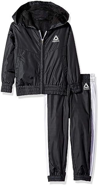 Amazon.com: Reebok - Chaleco con capucha y pantalón de ...